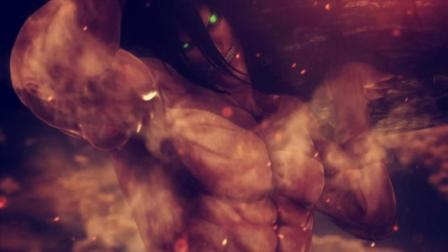 【Q桑】《进击的巨人2》困难电影向热血式攻略剧解说 第04集