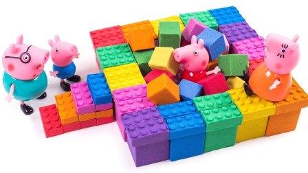 动力沙玛莎脸蛋糕 颜色动力沙彩虹俄罗斯方块游戏玩 手工DIY惊喜玩具太空沙天使沙