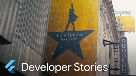 Hamilton app built with Flutter and featured on iOS and Android (Flutter Develop