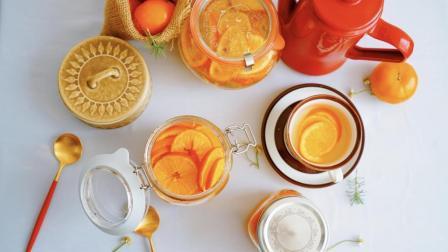 我的日常料理 第一季 教你制作一款美容养颜适合一年四季冷热饮的水果茶 橙子茶