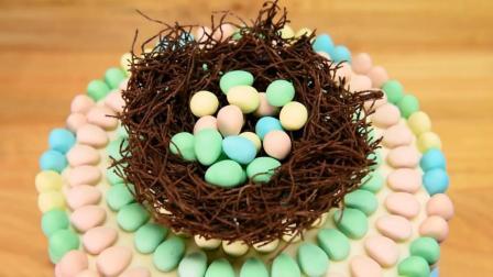 """当普通蛋糕遇上蛋糕大师, 立刻变成""""鸟巢"""", 太赞了!"""