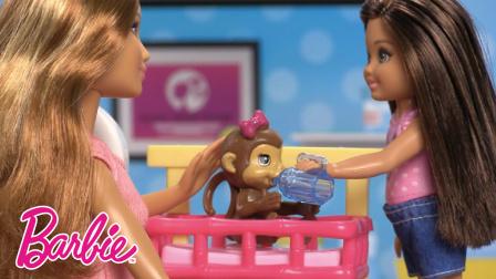 芭比之百样人生 小凯莉学做兽医