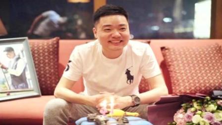 丁俊晖晒生日蛋糕被调侃吃鸡选手 台球神童变80后世界第一人
