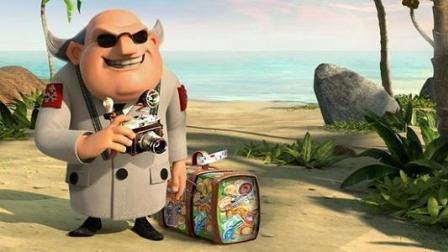 海岛奇兵超级海龟赵哥hgl磊磊大海解说破解版动画片 海贼王疯狂掠夺资源
