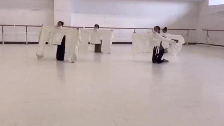 中国歌剧舞剧院昭君出塞排练版, 古典舞《掖庭》, 穿上衣服更有味