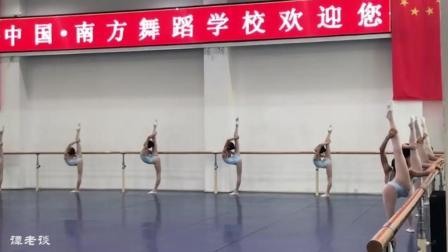 南方舞蹈学校的展示课, 标准化教学的展示, 基本功扎实