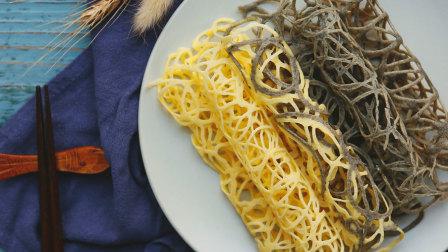【微体兔菜谱】蕾丝蛋卷