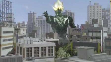 艾克斯奥特曼牺牲了自己也要拯救这个星球, 还好最后艾克斯奥特曼复活了
