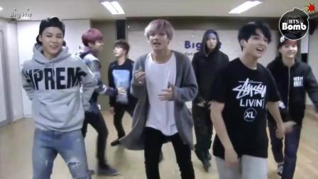 BTS防弹少年团田柾国的垮裤时代