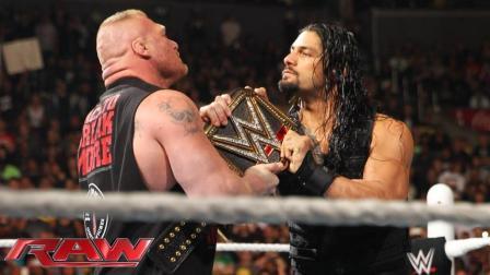 WWE野兽大布大战罗曼大帝, 高手过招, 一招失误就丢半条命!