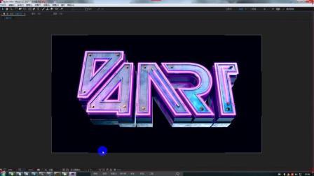 AI+C4D+AE三维字体设计教学 下集