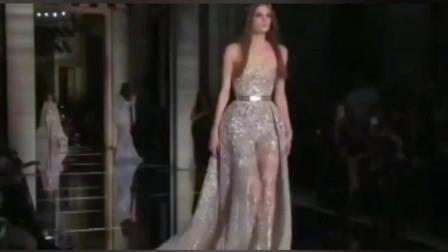 法国巴黎时装秀 2018时尚新款女装 连衣裙 礼服装