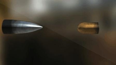 如果两颗子弹正面相撞, 会发生什么?