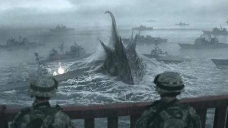 多艘航空母舰和空中重武器支援对付一个怪物, 没想到被瞬间掀翻