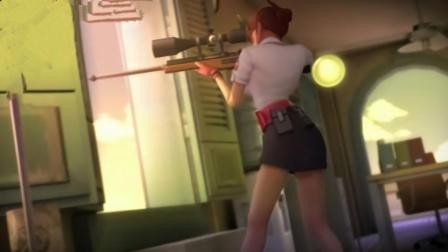 狙击枪的狙镜和枪管不在同一高度, 为什么还能打到狙镜瞄准的地方?