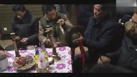 重庆奉节农村风俗, 老人去世坐堂锣鼓