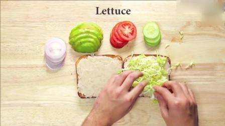 用吐司做这样的三明治, 合租的室友再也不愿意出去吃早餐了