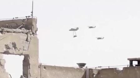 路人拍下这样的画面 疑似直升机押送UFO?