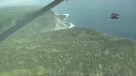 男子在私人飞机上疑似拍摄到双引擎UFO 这是什么情况?