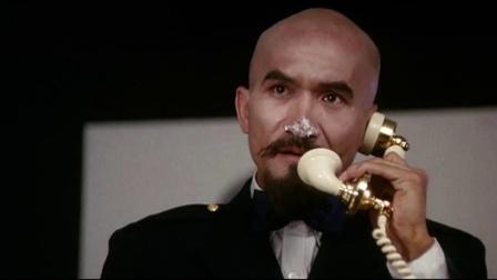 鬼马智多星 罗宾持枪威胁麦嘉 麦嘉接电话