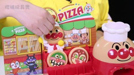 樱桃玩具秀玩具故事: 面包超人开了一家披萨店