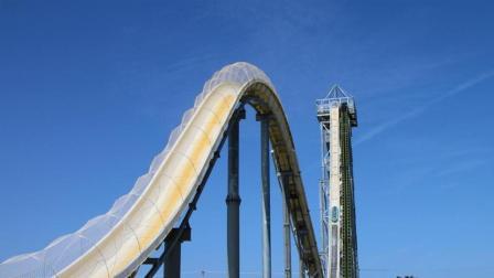 世界上最危险的水滑梯, 设计师: 我自己玩也可能会死!