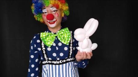 第23课 小白兔 放肆气球课堂《从零开始学气球》系列教程
