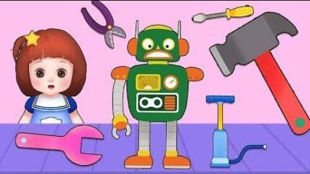 0386 - 娃娃工具机修理玩具和玩具玩具