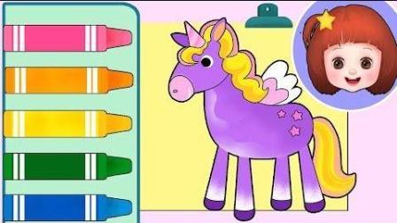 0391 - Color Baby Doli绘画游戏和娃娃玩具玩
