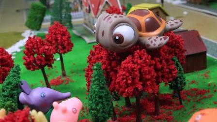 小猪佩奇第5季动画片之淘气的乌龟, 超级飞侠小爱出动救援