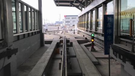 【上海地铁】浦江线 汇臻路-沈杜公路全程车头展望(POV)