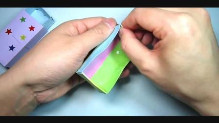 儿童趣味手工折纸: 收纳盒, 可以抽拉的盒子折法