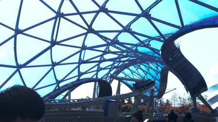 声光电都无比酷炫的创极速光轮 ——拍摄于上海迪士尼乐园
