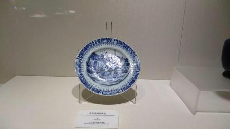 九江市博物馆清代青花瓷陶瓷视频