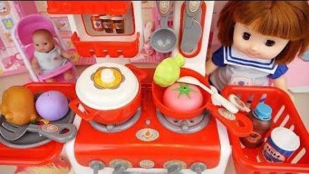 0397 - 婴儿娃娃厨房玩具烹饪食品娃娃玩