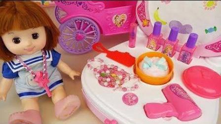 0407 - 婴儿娃娃美容包和魔术玩具娃娃玩娃娃玩