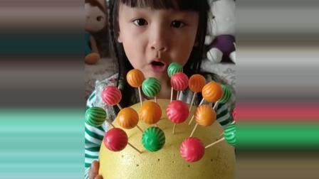 西瓜泡泡糖, 好漂亮, 好吃极了