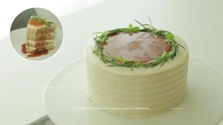 美食搬运: Cooking tree系列, 伯爵焦糖蛋糕