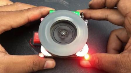 理工男做了个小装置, 可是用物理知识却有些解释不通!