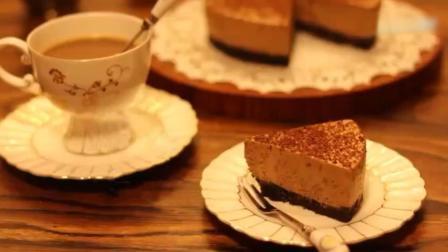 超心水的摩卡冻芝士蛋糕, 下午茶甜点轻松搞定!