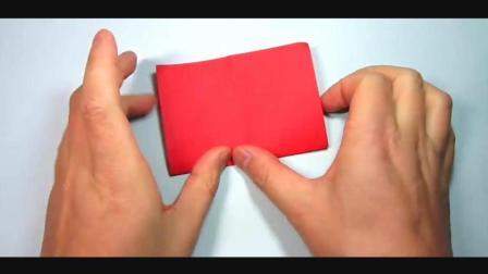 儿童趣味手工折纸: 简单又漂亮的纸船折法