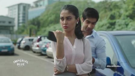 男人在美女面前都是绅士! 这则印度广告揭露了所有男人的本性