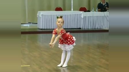 舞蹈萌娃一枚, 生女当如此, 太可爱了, 好想生一个这样的宝宝
