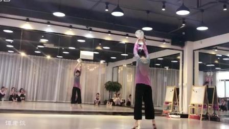 古典团扇舞蹈《茉莉花》, 你以为你换了把扇子, 我就不知道你是跳伞舞的