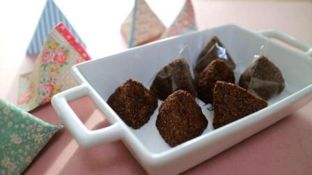 简单又好吃的下午茶, 巧克力小饼干制作过程