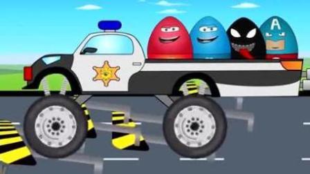 越野竞速 赛车总动员 挖掘机 推土机 吊车 大卡车 汽车总动员动画片中文版