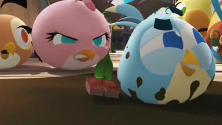 愤怒的小鸟精彩动漫: 猪猪的新游戏就是和小鸟一起洗澡!