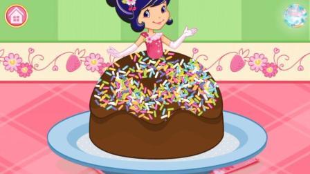 草莓甜心做冰淇淋公主蛋糕 儿童益智游戏