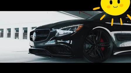 梅赛德斯-奔驰S63 AMG Coupe 光泽黑色Vossen混合锻造HF-1轮毂