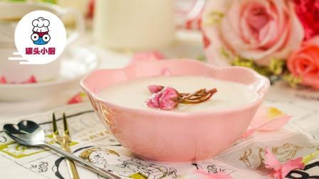 罐头小厨 第三季 樱花豆乳慕斯杯 用味蕾迎接春天的到来 赴一场樱花之约